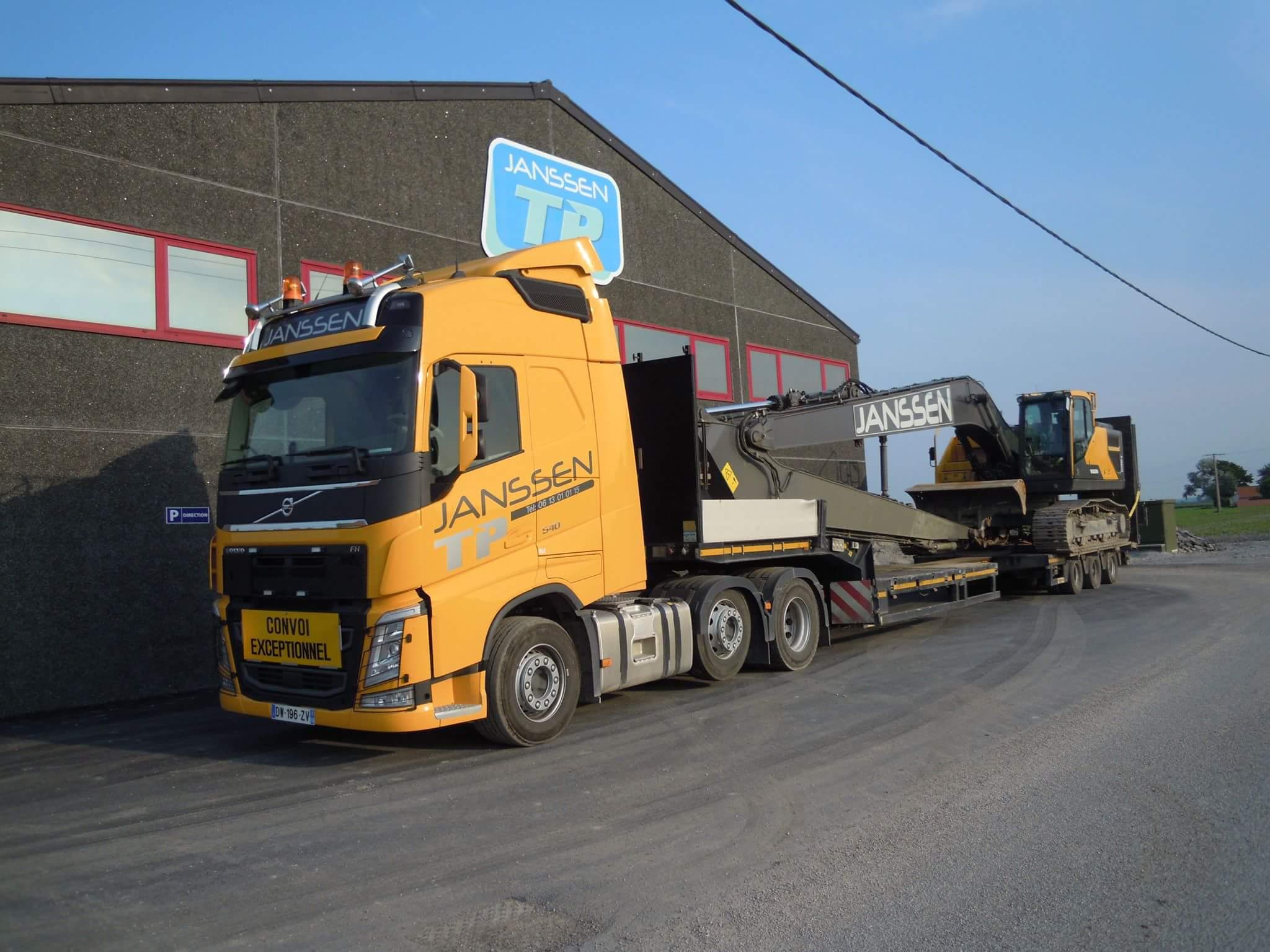 Transport - Convoi exceptionnel