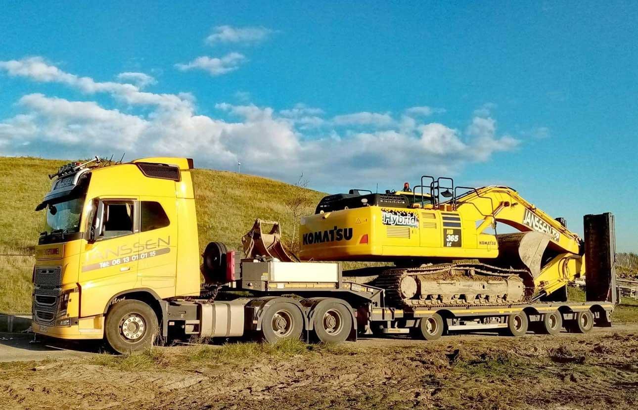Convoi exceptionnel entreprise de transport