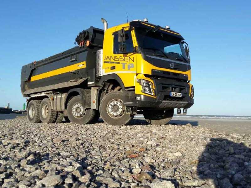 Transport - Transport matériaux 8x4